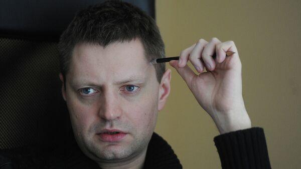 Журналист Алексей Пивоваров, архивное фото