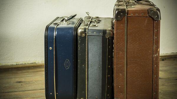 Дорожный багаж. Архивное фото.