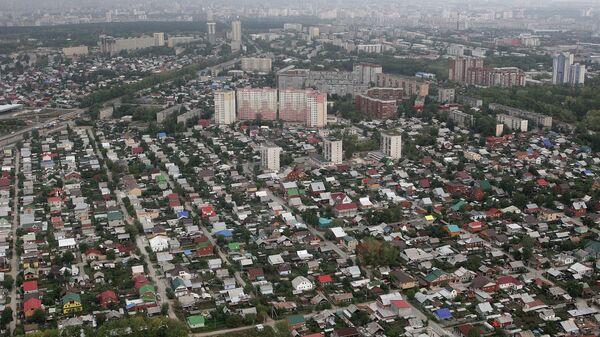 Вид на город Екатеринбург. Архивное фото.