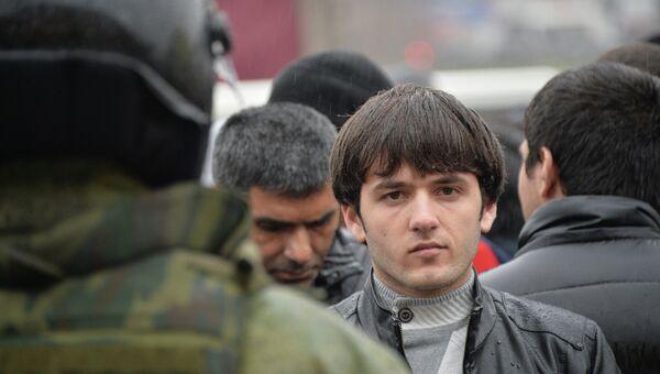 Полиция проверяет московский рынок Садовод, архивное фото