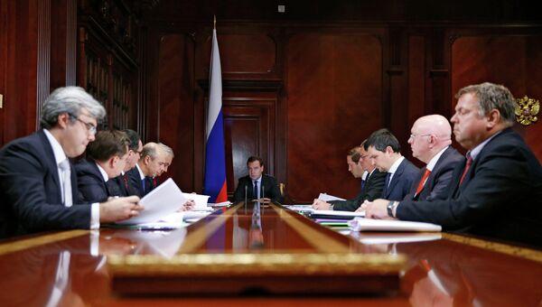 Д.Медведев провел совещание в Горках