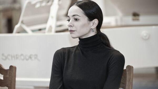 Диана Вишнёва, фото с места события