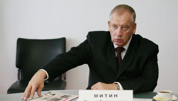 Новгородский губернатор Сергей Митин. Архивное фото