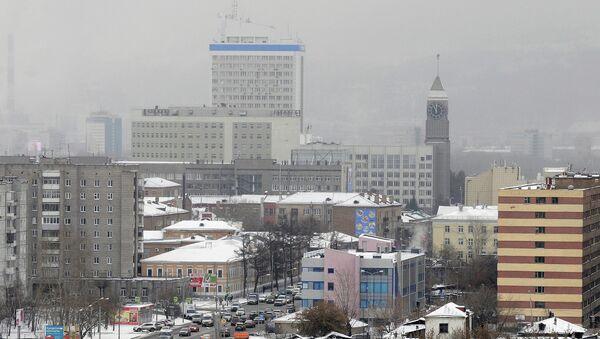 Красноярск ранней зимой