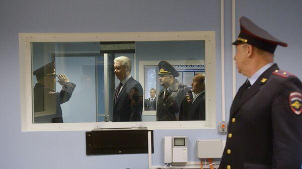 Открытие отдела полиции по району Красносельский после ремонта