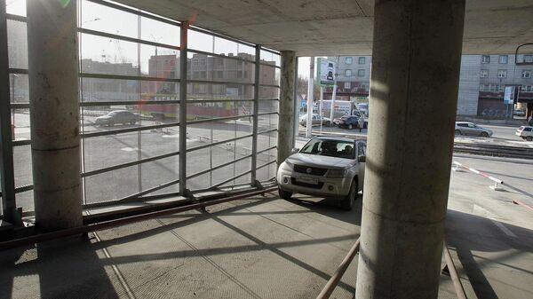 Перехватывающая парковка. Архивное фото