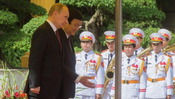 Официальный визит В.Путина во Вьетнам. Фото с места события
