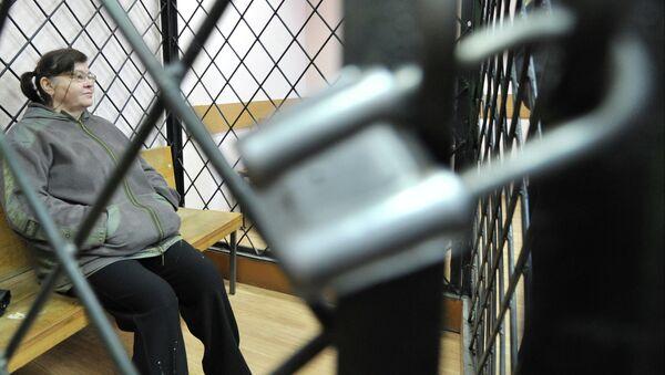 Мать лидера банды Сергея Цапка Надежда, архивное фото