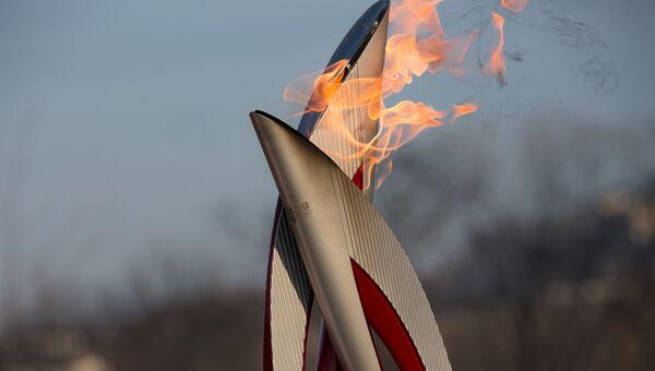 Олимпийский огонь, архивное фото