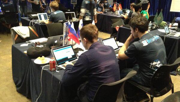 Фото команды Москвы PayPal Battle Hack. Фото с места событий