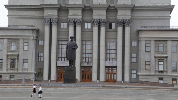 Театр оперы и балета в Самаре. Архивное фото