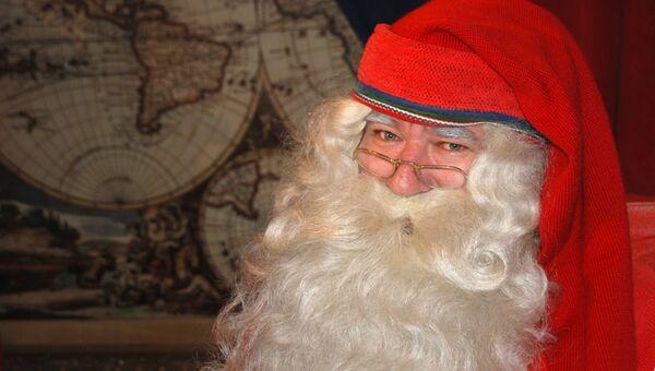 Йоулупукки, или Санта-Клаус по-фински, архивное фото