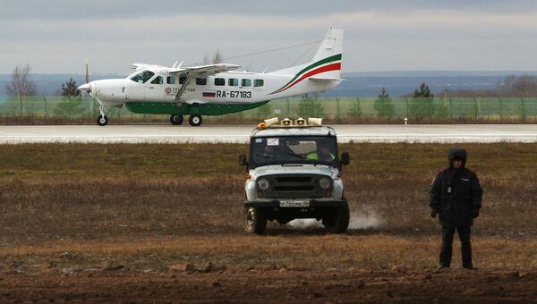 Специалисты выровняли воронку на месте крушения самолета Boeing 737 в Казани