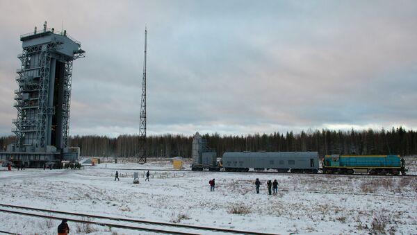 На космодроме Плесецк. Архивное фото