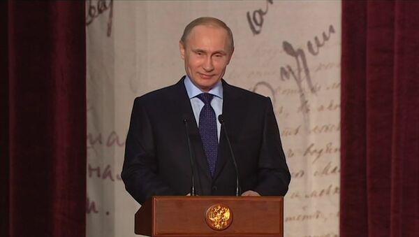 Путин с писателями и потомками классиков обсудил проблемы литературы