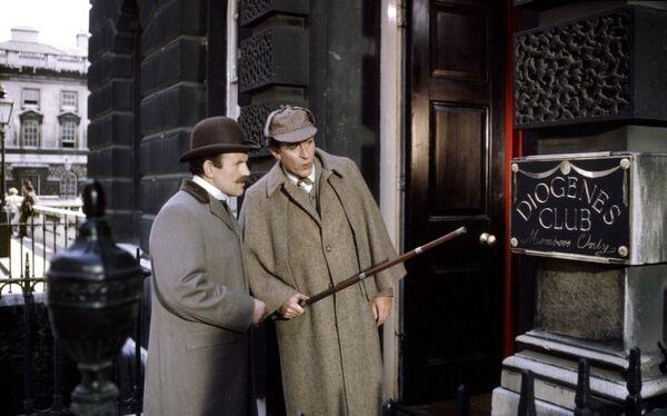 Кадр из фильма Частная жизнь Шерлока Холмса