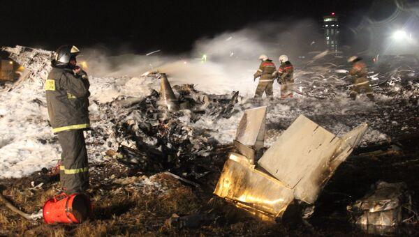 В аэропроту Казани разбился пассажирский самолет. Архивное фото