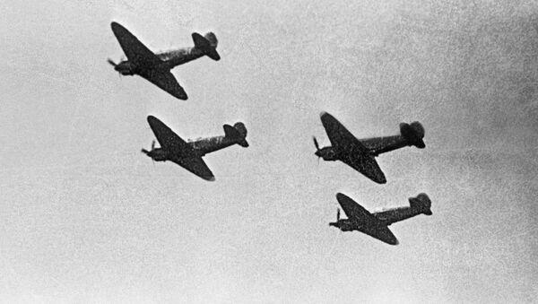 Самолеты эскадрильи Нормандия-Неман. Архивное фото