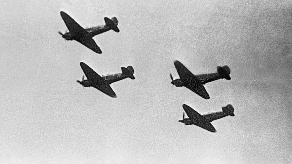 Самолеты эскадрильи Нормандия-Неман