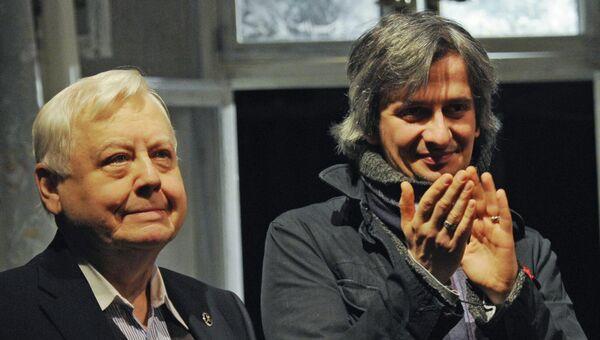 Олег Табаков и Константин Богомолов, архивное фото