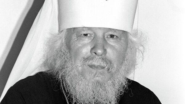 Митрополит Санкт-Петербуржский и Ладожский Иоанн, архивное фото