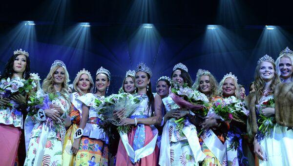 Представительница города Владимир Анастасия Трусова, завоевавшая титул победительницы национального конкурса красоты и талантов Краса России-2013