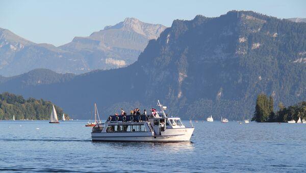 Люцернское озеро в Швейцарии. Архивное фото