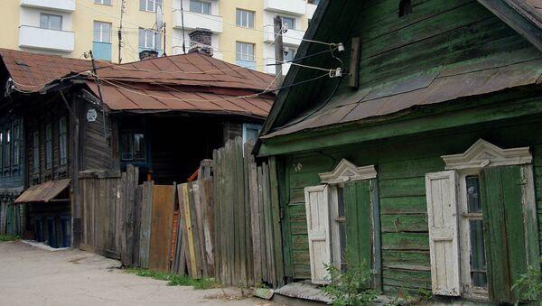 Ветхое жилье. Архивное фото