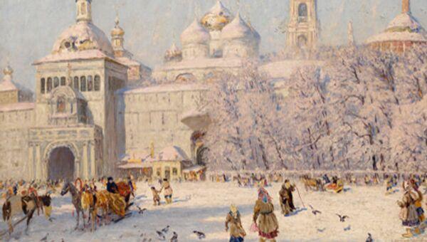 Картина Николая Дубовского Благовест