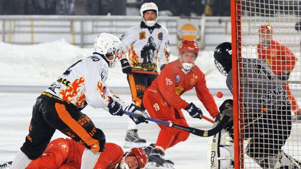 Хоккейный матч Енисей - Кузбасс