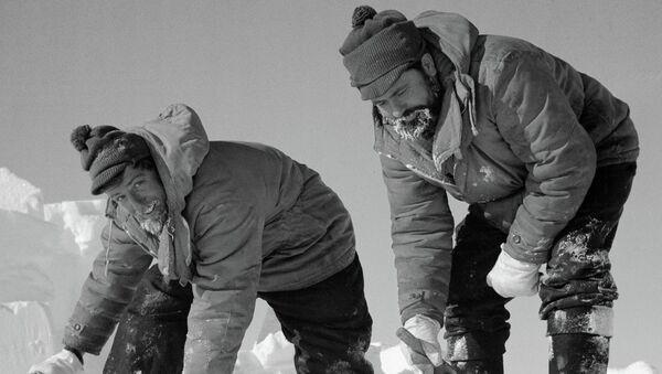 Добыча воды в Антарктиде