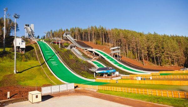Федеральный центр подготовки по зимним видам спорта «Снежинка» в Чайковском