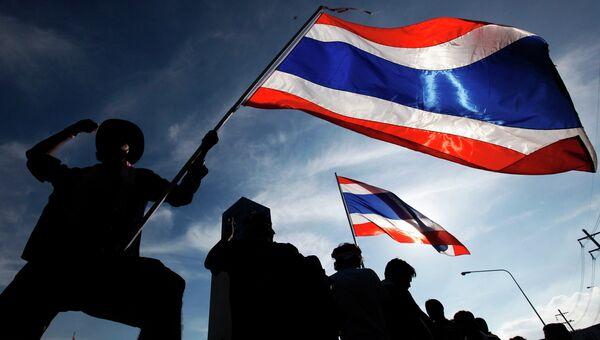 Протесты в Таиланде. Фото с места события