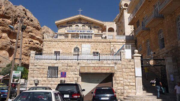 Монастырь Святой Феклы в Маалюле. Архивное фото