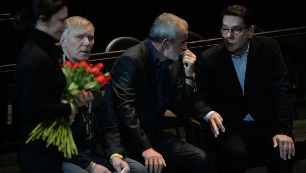 Церемония прощания с актером Юрием Яковлевым