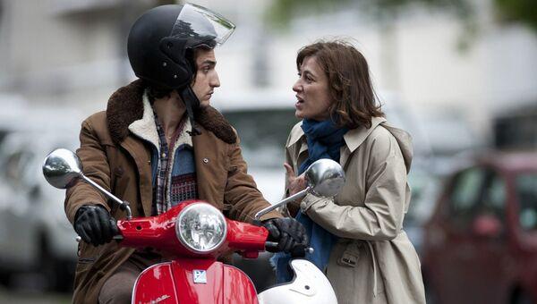 Кадр из фильма Замок в Италии, реж. Валерия Бруни-Тедески