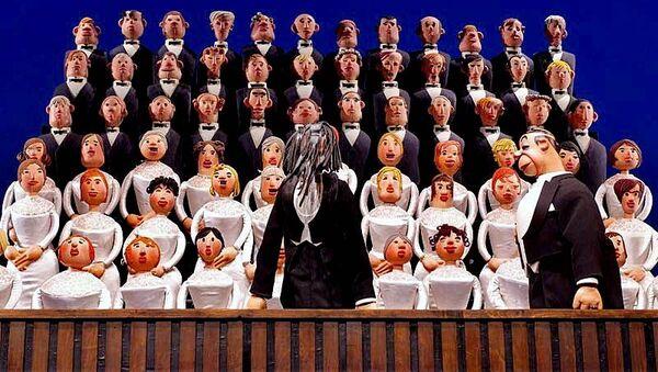 Спектакль Необыкновенный концерт, реж. Сергей Образцов и Семен Самодур. Архивное фото
