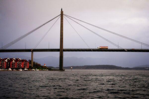 Вантовый мост в Ставангере