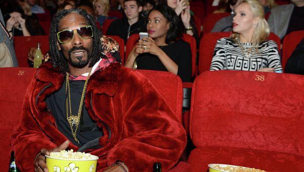 Американский репер, продюсер, актер Келвин Кордозар Бродус-младший (Snoop Dogg). Архивное фото