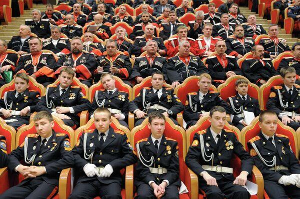 Первый съезд казачьих духовников в Москве