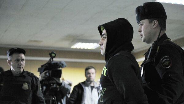 Орхан Зейналов, обвиняемый в громком убийстве в московском районе Бирюлево Западное. Архивное фото