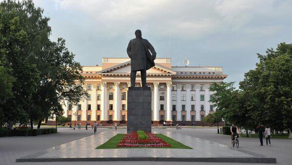 Администрация Тюменской области. Архивное фото