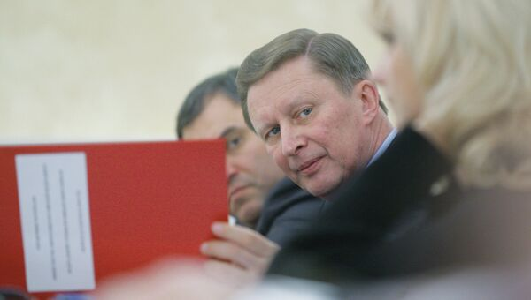 Заместитель председателя правительства РФ Сергей Иванов, архивное фото