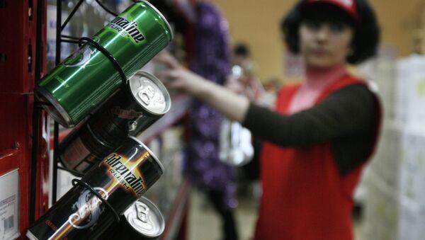 Энергетические напитки. Архивное фото