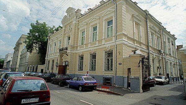 Здание Совинформбюро в Леонтьевском переулке. Архив