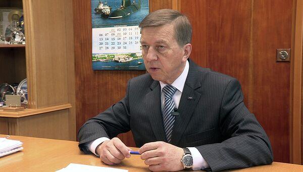 Генеральный директор Центра судоремонта Звездочка Владимир Никитин