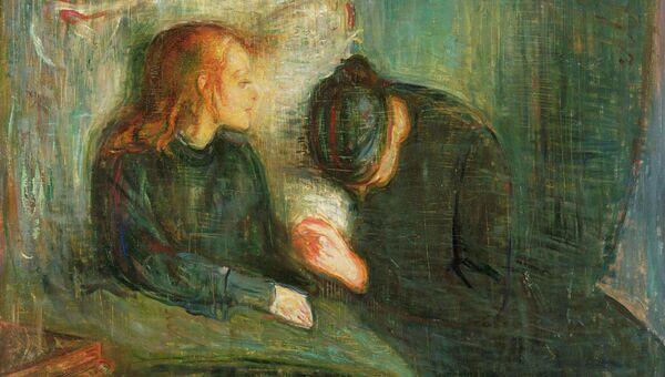Эдвард Мунк. Больная девочка. 1886