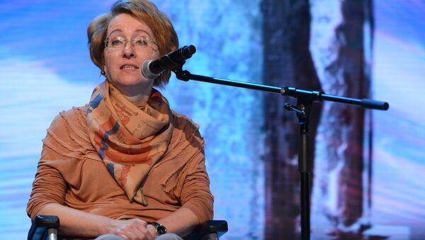 Руководитель Центра социальных рейтингов РИА Новости Ирина Ясина. Архивное фото