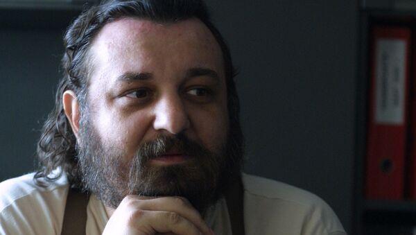 Журналист и один из основателей журнала Эксперт Никита Кириченко. Середина 1990-х. Архивное фото