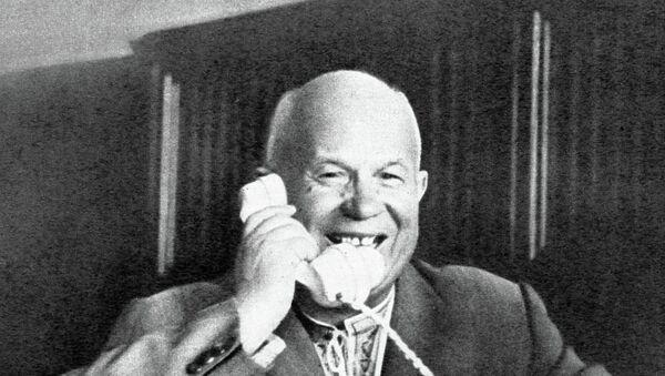 Никита Сергеевич Хрущев. Архивное фото